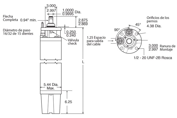 motores sumergibles franklin encapsulados